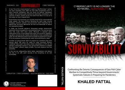 Survivability Book Cover by Best Selling Author Khaled Fattal